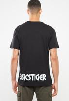 Asics Tiger - Dt graphic tee - black
