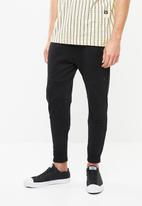 G-Star RAW - Ore slim tapered sweat pant - black