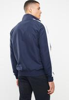 FILA - Harvey full-zip sweater - navy