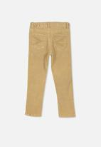Cotton On - Malik cord pant - beige