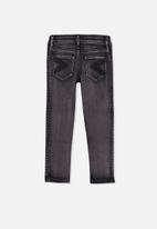 Cotton On - Matt moto jean - black