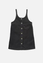 Cotton On - Willa dress - charcoal