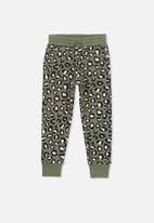 Cotton On - Kallie brushed leopard trackpant - multi