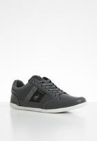 POLO - Contrast side flash sneaker - grey