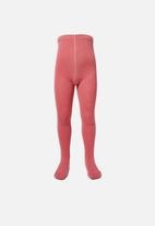 Cotton On - Ribbed solid tight - pink