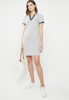 POLO - Tessa V-neck golfer dress - grey