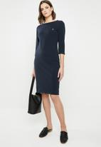 POLO - Scarlet dress - navy