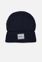 Cotton On - Winter knit beanie - navy