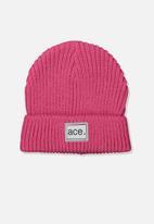 Cotton On - Winter knit beanie - pink