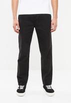 Superbalist - Tapered carpenter pants - black
