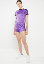 adidas Originals - Sporty playsuit - purple & black