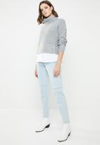 New Look - 2 in 1 jumper - grey