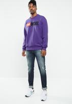 Diesel  - S-gir-dies crew sweatshirt - purple