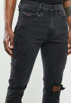 Diesel  - D-strukt jeans - black