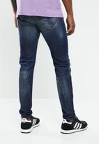Diesel  - D-Istort super skinny jean - blue
