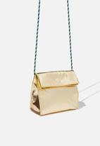 Cotton On - Crossbody sling bag - gold