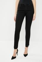 GUESS - Guess power low skinny jeans - black