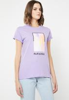 Cotton On - Classic arts tee - purple