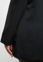 STYLE REPUBLIC PLUS - Boyfriend blazer -black
