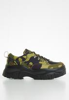 Public Desire - Biggie flatform sneaker - multi