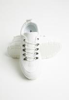 Public Desire - Biggie flatform sneaker - white