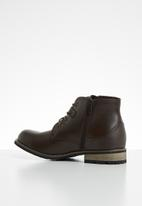 UrbanArt - Vivlite lace-up boot - brown
