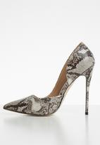 Public Desire - Sweet stiletto heel - grey