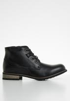 UrbanArt - Vivlite lace-up boot - black