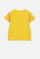 Cotton On - Jamie short sleeve tee - yellow