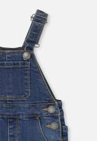 Cotton On - Bailey dungaree - blue