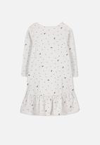 Cotton On - Joss long sleeve dress - grey