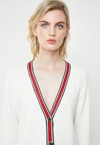 ONLY - Kaja 7/8 sleeve cardigan - white