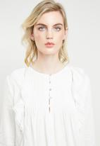 ONLY - Miria 7/8 blouse - white