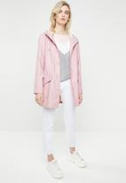 ONLY - Fine raincoat - pink