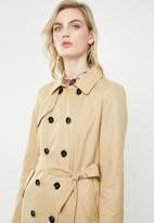 ONLY - Laura long trenchcoat - beige