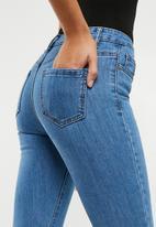 Missguided - Sinner 5 pocket skinny - blue