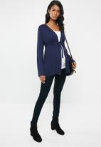 edit Maternity - Knit cardigan - navy