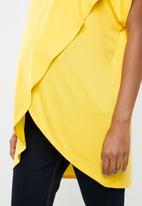 edit Maternity - Maternity T-shirt - yellow