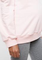 edit Maternity - Crew neck sweater - pink