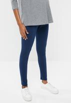edit Maternity - Quality stretch leggings - blue