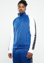 Nike - Nsw hbr jacket pk statement - blue & white