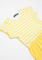 Superbalist - Dress with leggings - yellow