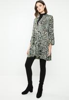 Revenge - Leopard print tunic - multi