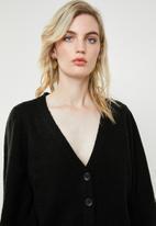 Vero Moda - Dalo long sleeve V-neck cardigan - black