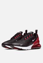 Nike - Nike Air Max 270 - Black / white / university red / anthracite
