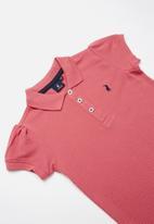 POLO - Short sleeve golfer - pink