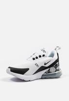 Nike - Nike Air Max 270 SE - White / Black / Metallic Silver