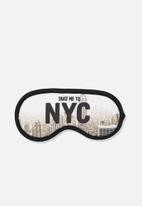 Typo - Premium eye mask - NYC views