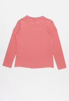 POLO - Long sleeve tee - pink