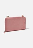 Typo - X-body travel wallet - pink